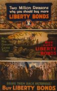 "Vintage War Poster ""Make his dreams come true. Buy more Liberty Bonds""."
